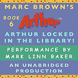 Arthur Locked in the Library Audiobook