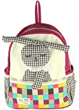 Deer Mum Children's Backpack Cut Rabbit Attached Schoolbag Toddler Kid Cartoon Backpack Shoulder Bags