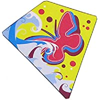"Butterfly Style Kite From Flyers Kites (Single Kite), 24"" X 26"", Diamond Kite, Other Styles Available. 3+ Years"