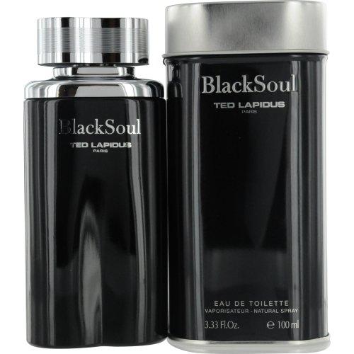Ted Lapidus Acqua di Profumo, Black Soul Edt Vapo, 100 ml