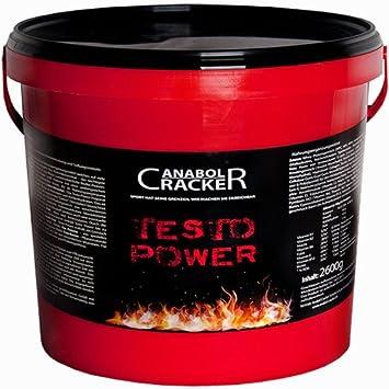 Testo Power, Whey Proteine Creatin Shake, 2600g Dose, Cappuchino Geschmack, Eiweißpulver