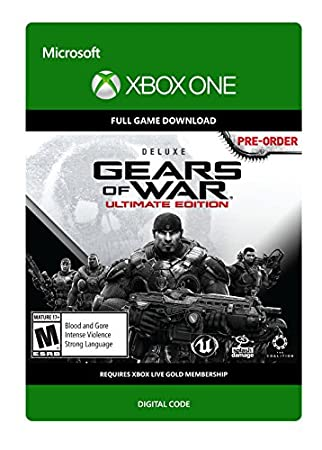 Gears of War: Ultimate Edition Deluxe Version - Pre-Load - Xbox One [Digital Code]