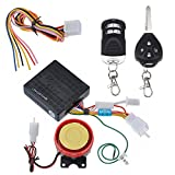 VicTop® Motorcycle Bike Scooter Anti-theft Security Alarm System Remote Control Engine Start 12V for Suzuki Honda Yamaha Kawasaki Harley Davidson And All Other Motorcycles