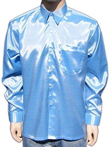 uomo-casual-business-camicia-con-satinato-lucido-xxl-azzurro