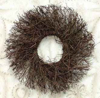 Angelvine Twig Wreath Country Primitive Floral Craft Décor