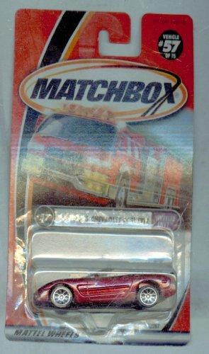 Matchbox 2001-57/75 Wheeled Envy 2000 Chevrolet Corvette 1:64 Scale