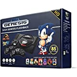 Sega Genesis Flashback HD 2017 Console 85 Games Included (Color: Black)