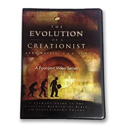 The Evolution of a Creationist / 2 DVD PLUS Workbook / Dr. Jobe Martin