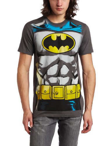 Bioworld Mens Batman Muscle Costume Tee by Bioworld