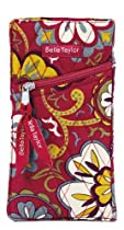Sangria Quilted Cotton Eye Glass Case