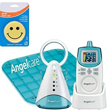 Angelcare AC-401 new model Movement Sensor with Sound Monitor with Night Light