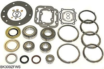 Ford ZF S542 5 Speed Transmission Rebuild Kit 87-95 w/ Synchros, BK300ZFWS (Transmission Rebuild Kit Ford compare prices)