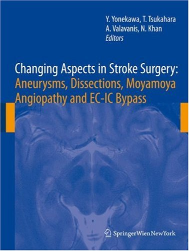 Changing Aspects In Stroke Surgery: Aneurysms, Dissection, Moyamoya Angiopathy And Ec-Ic Bypass (Acta Neurochirurgica Supplement)