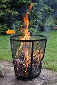 Incin rateur de jardin 56cm x 37cm jardin - Incinerateur de jardin ...