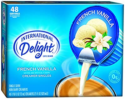International Delight Singles Coffee Creamer, French Vanilla, 48 Count (Pack of 4) by WhiteWave Foods Company