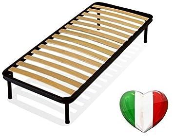 Piazza E Mezza Cheap Price Rete A Doghe 120x190 Cm Da Incasso Senza Piedi Reti