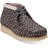 Clarks Women's Printed Polka Dot Wallabee Boot