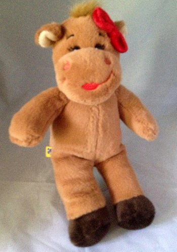 "10"" Small Build a Bear Sweet Cow Plush - 1"