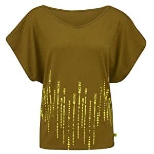 Zumba Fitness Way To Word It Fancy Top femme Go For Green FR : M-L (Taille Fabricant : M/L)