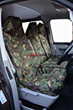 2013 FORD TRANSIT CHASSIS CABS TDCI EURO5 CAMOUFLAGE WATERPROOF VAN SEAT COVERS 2+1 DPM CAMO