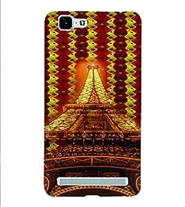 PrintVisa Travel Paris Eifel 3D Hard Polycarbonate Designer Back Case Cover for VivoX5MAX