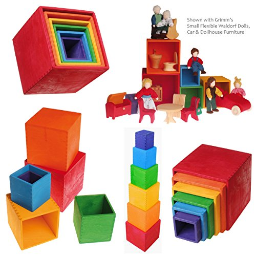 Grimm's Large Set of Colored Boxes - 1