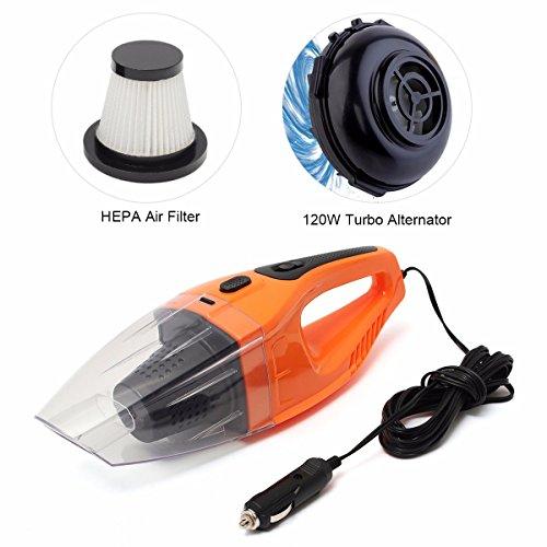 Audew 100w voiture aspirateur main portable poussi re - Aspirateur portable pour voiture ...