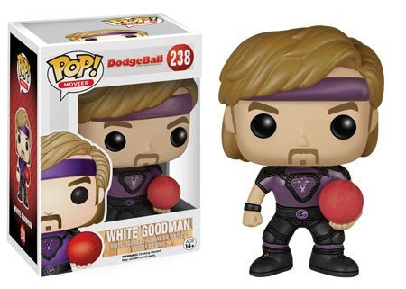 POP! Movies: DodgeBall Pop White Goodman! Vinyl Figure! (White Goodman compare prices)