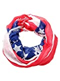 Collection Eighteen Women's American Flag Infinity Scarf