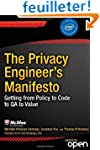 The Privacy Engineers' Manifesto: Get...