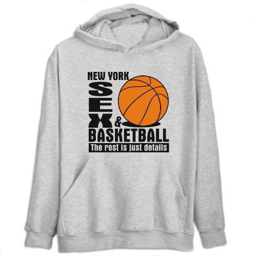 New York Sex & Basketball ... Mens Hoodie