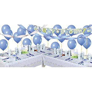 Carter Boy Baby Shower Deluxe Party Kit