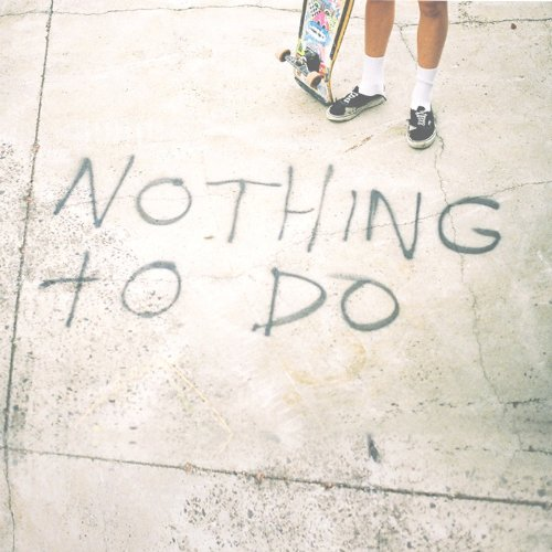 Original album cover of Nothing to Do by Bleeding Knees Club
