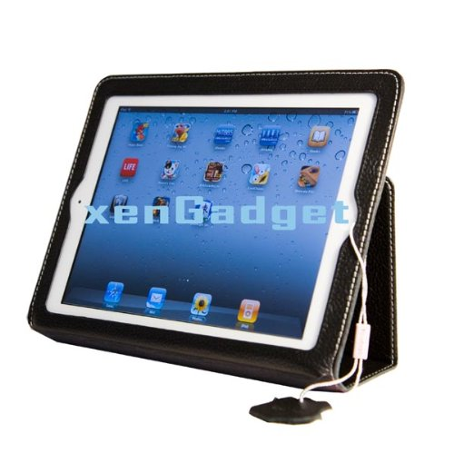 Best Selling Yoobao Executive Genuine Leather Case for iPad 2 (Version 3 Black) from Xengadget