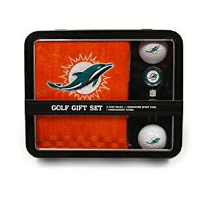 NFL Miami Dolphins Golf Ball (Set of 2) by Team Golf