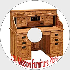 101 mission style furniture plans how to build