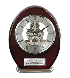 Employee Recognition Service Award or Retirement Gift. - Desk Clocks