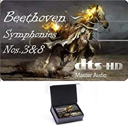 Beethoven Symphonies Nos. 3'Eroica'&8 High Definition Music Card [Blu-ray]