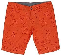 Aristot Boys' 8 Years Cotton Shorts (01B024B, Red)