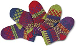 Solmate Socks - Mismatched Baby socks; Two pairs with a spare; Baby Dragonfly Medium