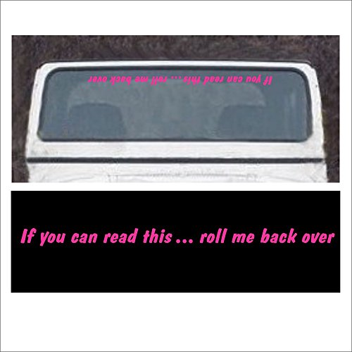 If You Can Read This Roll Me Back Over Windshield Decal For Jeep 4x4