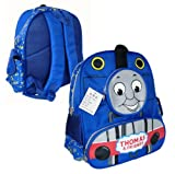 Kids Size 13in 3D Thomas the Tank Backpack - Thomas Schoolbag
