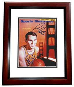 Rick Barry Autographed Hand Signed Golden State Warriors 8x10 Photo - MAHOGANY CUSTOM... by Real+Deal+Memorabilia