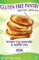 The Gluten-Free Pantry Brown Rice Pancake and Waffle Mix, 16-Ounce Boxes (Pack of 6) from The Gluten-Free Pantry