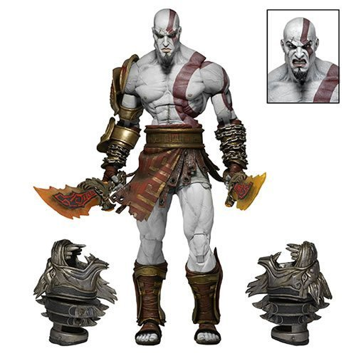 "God of War 7"" Figures - God of War 3 Ultimate Kratos"