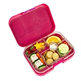 Yumbox Leakproof Bento Lunch Box Container (New Design Framboise Pink) for Kids