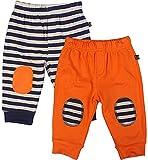 FS Mini Klub Boys' 18-24 Months Set of two Pants (Orange, 85064E-ORANGE18-24M_7)