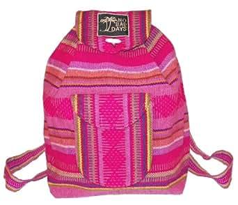 Amazon.com: Baja Backpack Ethnic Woven Mexican Bag - No