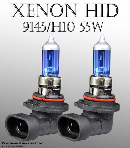 H10/ 9145 55W pair Fog Light Xenon HID Super White Replacement Bulbs (H10 Hid Fog Lights compare prices)
