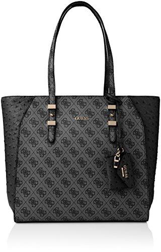 Guess Damen Gia Tote Handtaschen, Mehrfarbig (Coal Multi), One Size